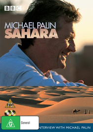 Michael Palin's Sahara on DVD image