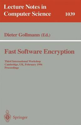 Fast Software Encryption image