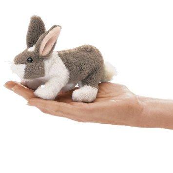 Folkmanis Mini Finger Puppet - Bunny Rabbit