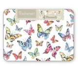 Cooksmart Pack of 4 Placemats - Butterfly