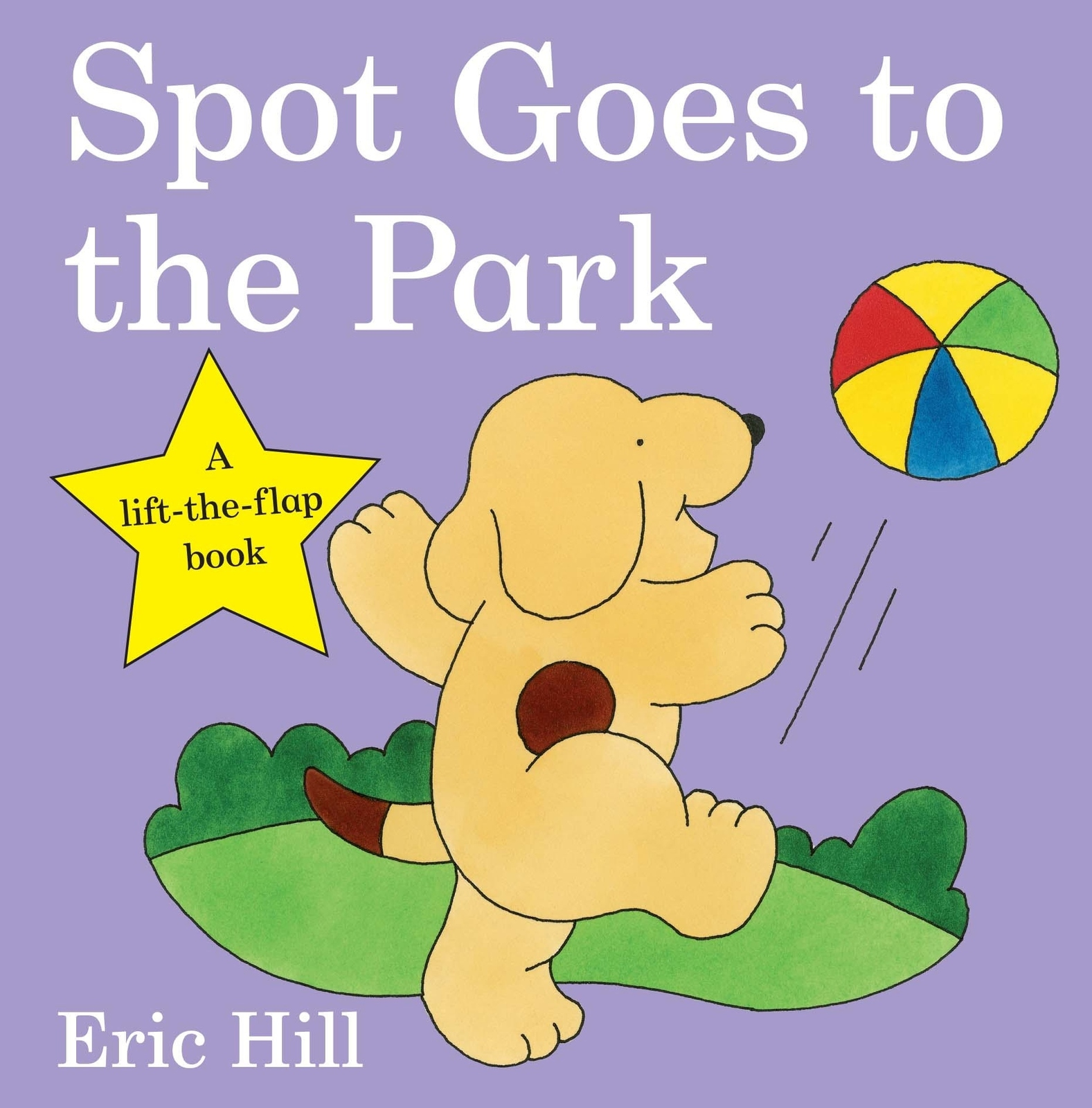 Spot Goes to the Park : 30th Anniversary (Lift the Flap) by Eric Hill image