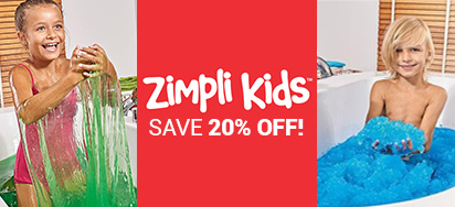 20% off Zimpli Kids!