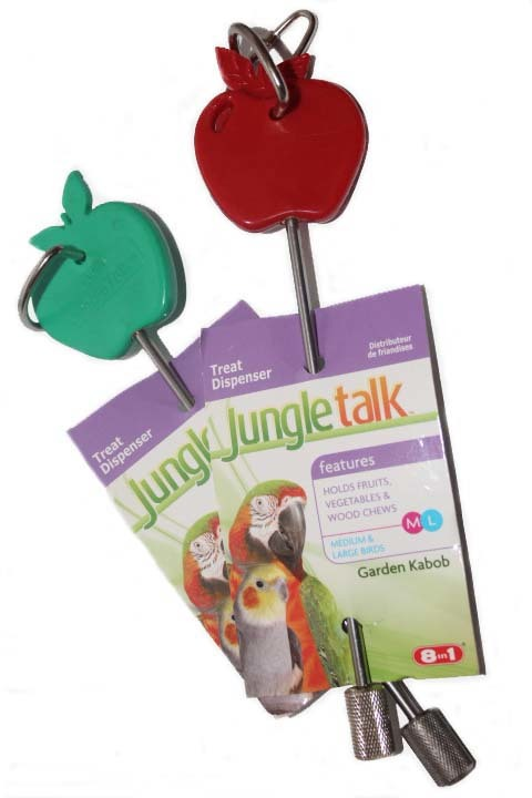 Jungle Talk: The garden Kabob for Large Birds