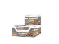 Musashi Pre-Workout Protein Bars - Peanut Butter Chocolate (12 x 65g)