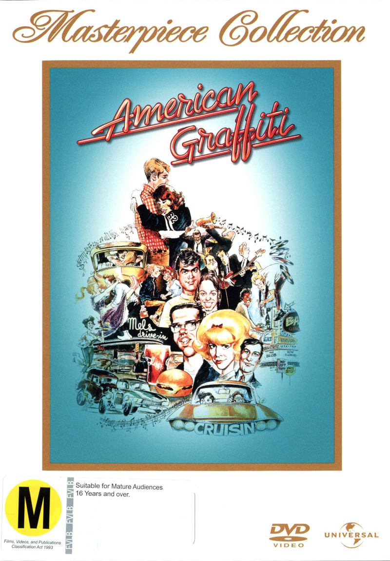 American Graffiti on DVD image