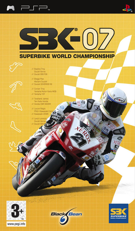 SBK : World Superbike Championships 2007 for PSP