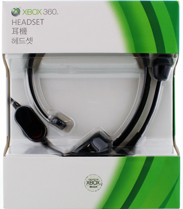 Xbox 360 Elite Headset (Black) for X360