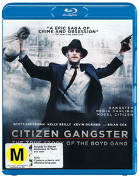 Citizen Gangster on Blu-ray