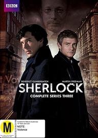 Sherlock - Complete Series Three on DVD