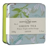 Scottish Vintage Fine Soap in Tin - Green Tea 100g