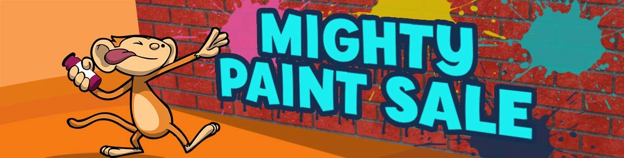 Our Mighty Paint Sale has begun!