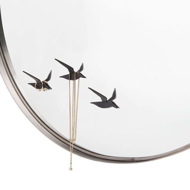 Monkey Business: Fly By Reflection Jewelry Holder (Black)