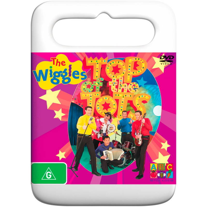 The Wiggles - Top of the Tots on DVD image