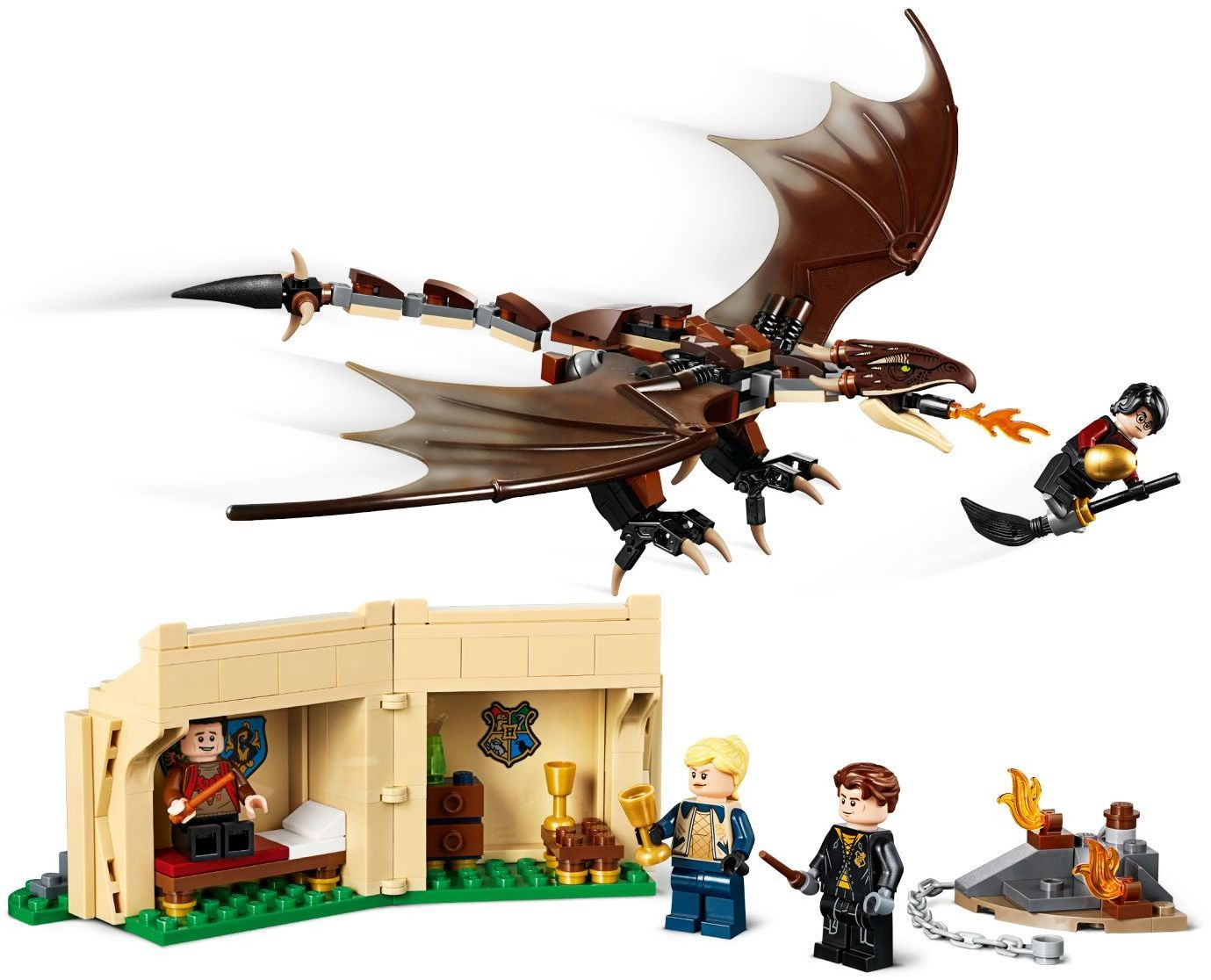 LEGO Harry Potter - Hungarian Horntail Triwizard Challenge (75946) image