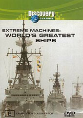 Extreme Machines - Worlds Greatest Ships on DVD