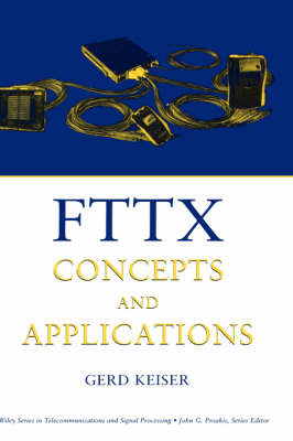 FTTX Concepts and Applications by Gerd Keiser image