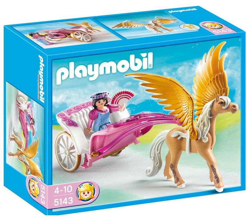 Playmobil Princess Pegasus Carriage 5143 Toy At Mighty Ape Nz