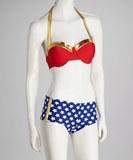 Wonder Woman Bandeau Bikini (Medium)