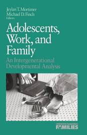 Adolescents, Work, and Family image
