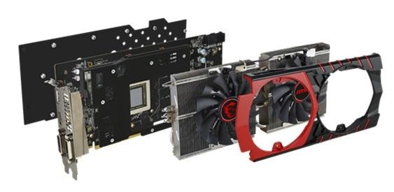 MSi R9 390X Gaming 8G Graphics Card