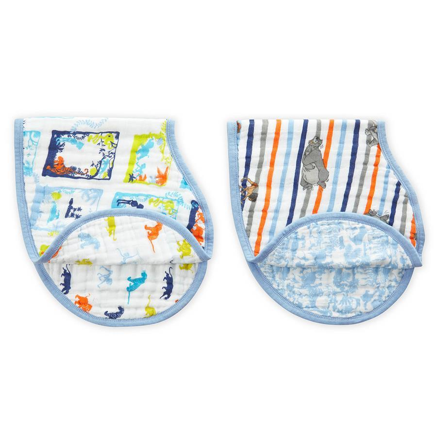 Aden + Anais: Disney Baby Burpy Bib - The Jungle Book (2 Pack) image