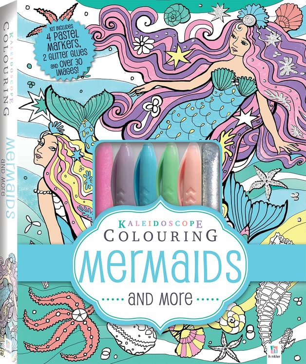 Kaleidoscope: Colouring Kits - Mermaids and More