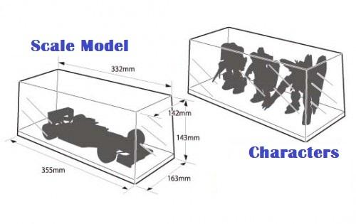 Aoshima - Multi Display Case (W330)