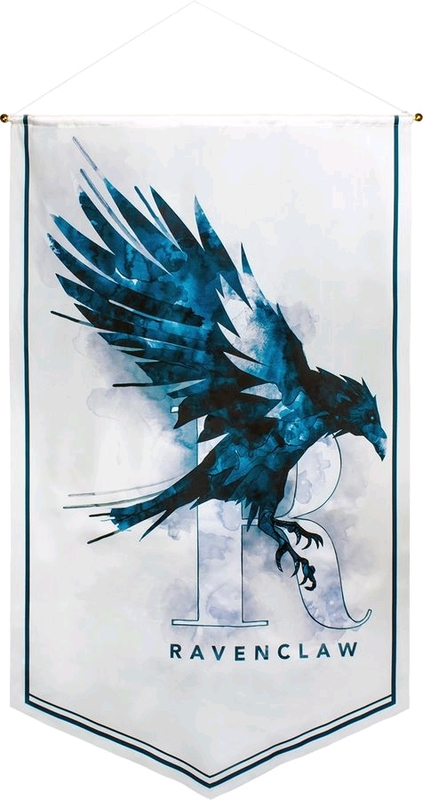 Harry Potter Watercolour Satin Banner (Ravenclaw)