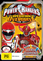 Power Rangers - Operation Overdrive: Vol. 2 - Toru Diamond on DVD