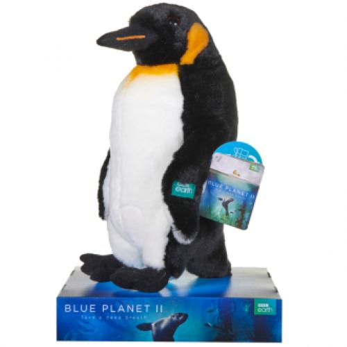 "BBC Earth: Penguin - 7"" Plush"