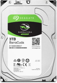 "3TB Seagate BarraCuda 3.5"" 5400RPM SATA HDD"