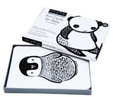 Wee Gallery Art Cards for Baby (Black & White)