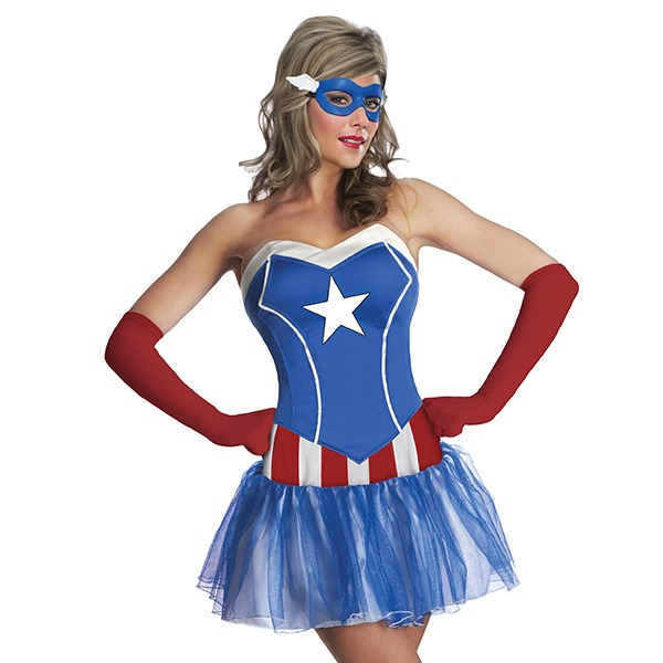 Marvel American Dream Women's Costume (XS)