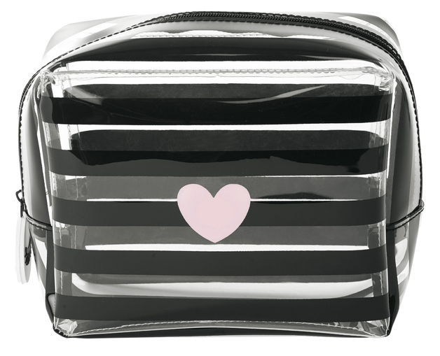 Miss Etoile: Large Cosmetic Bag - Heart