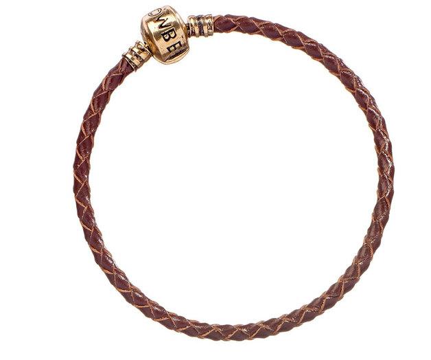 Fantastic Beasts: Slider Charm Leather Bracelet (X-Large)