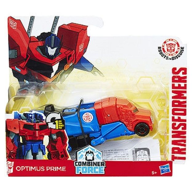Transformers Robots In Disguise - One Step Changer - Optimus Prime