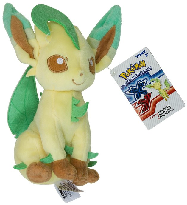 "Pokemon: Leafeon - 8"" Basic Plush"