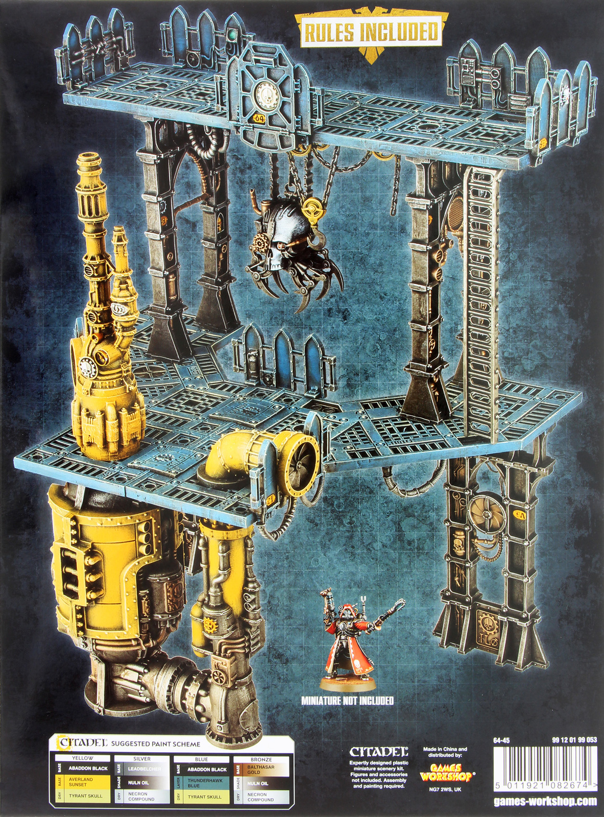 Office Painting Ideas Warhammer 40 000 Sector Mechanicus Galvanic Magnavent