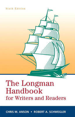 The Longman Handbook for Writers and Readers by Chris M. Anson image