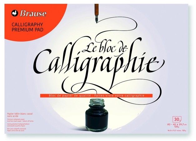 Brause: Calligraphy Pad - A3 (30 Sheets)