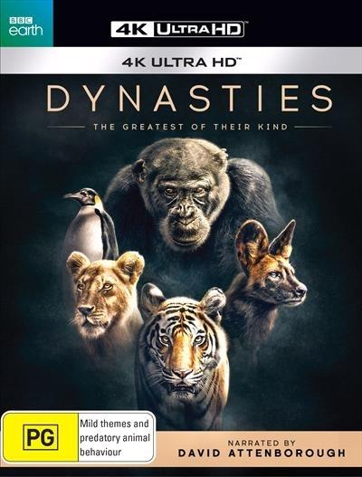 Dynasties on UHD Blu-ray