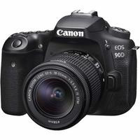 Canon: EOS 90D DSLR Camera with 18-55mm Lens
