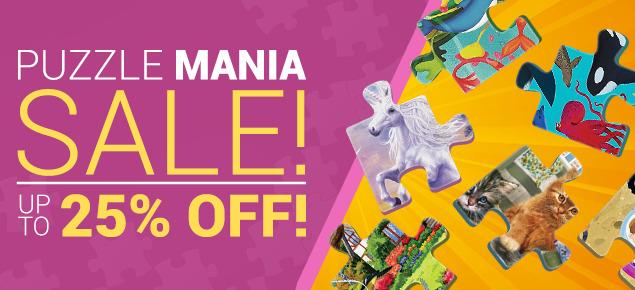 Puzzle Mania Sale!