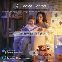 Smart Ape: 4.5W Colour & Warm/Cool White Smart LED Bulb (E14) C37 - 1 Pack