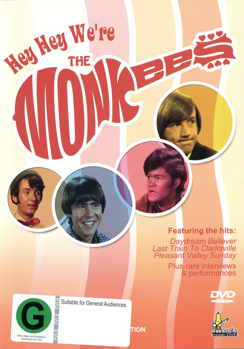The Monkees - Hey Hey We're The Monkees on DVD image