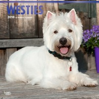 West Highland White Terriers 2018 Square Wall Calendar by Inc Browntrout Publishers