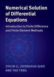 Numerical Solution of Differential Equations by Zhilin Li image