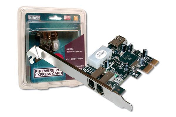 Digitus PCI Express Firewire Card 3x Ports image