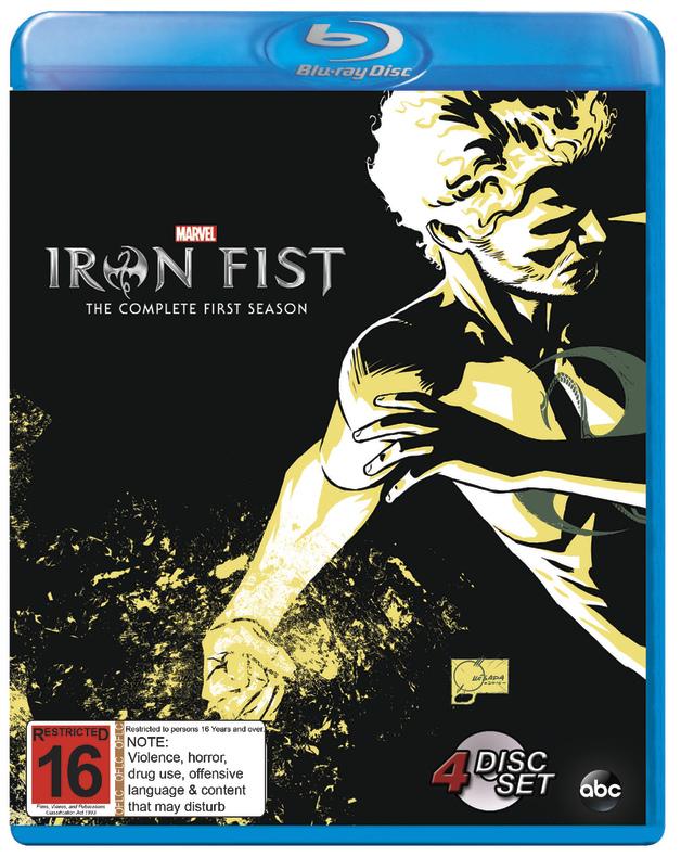 Iron Fist on Blu-ray