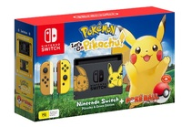 Nintendo Switch Console - Pokemon: Let's Go, Pikachu! for Nintendo Switch